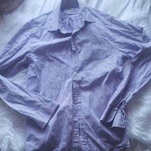 Jcrew Purple Casual Dress Up Shirt